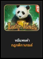 สล็อตหมีแพนด้า(LuckyPanda)